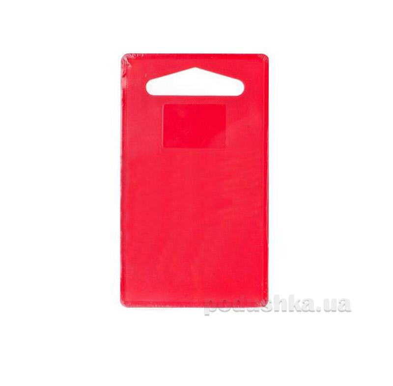 Доска пластиковая Banquet Plastia Colore красная