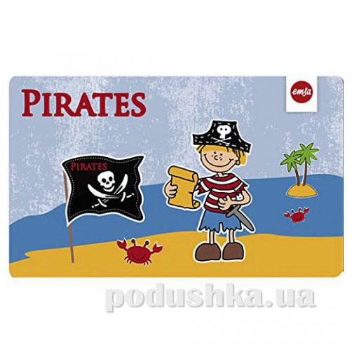 Доска-поднос для завтрака Classic Пират 23,5х14,5см Emsa EM516276