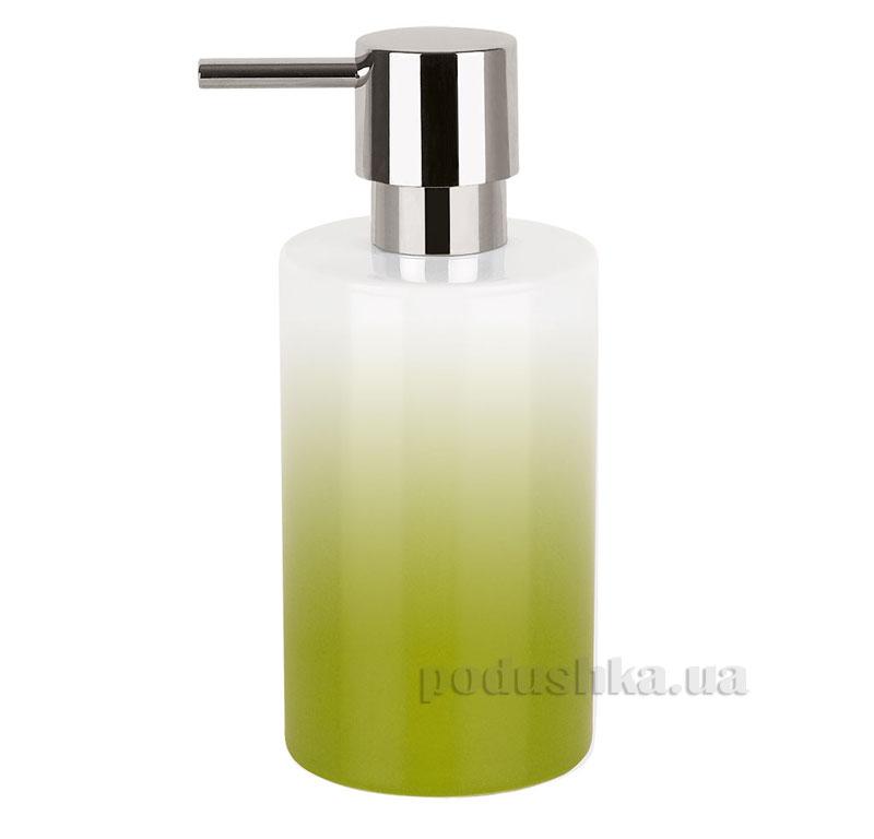 Дозатор для мыла Spirella Tube Gradient зеленый