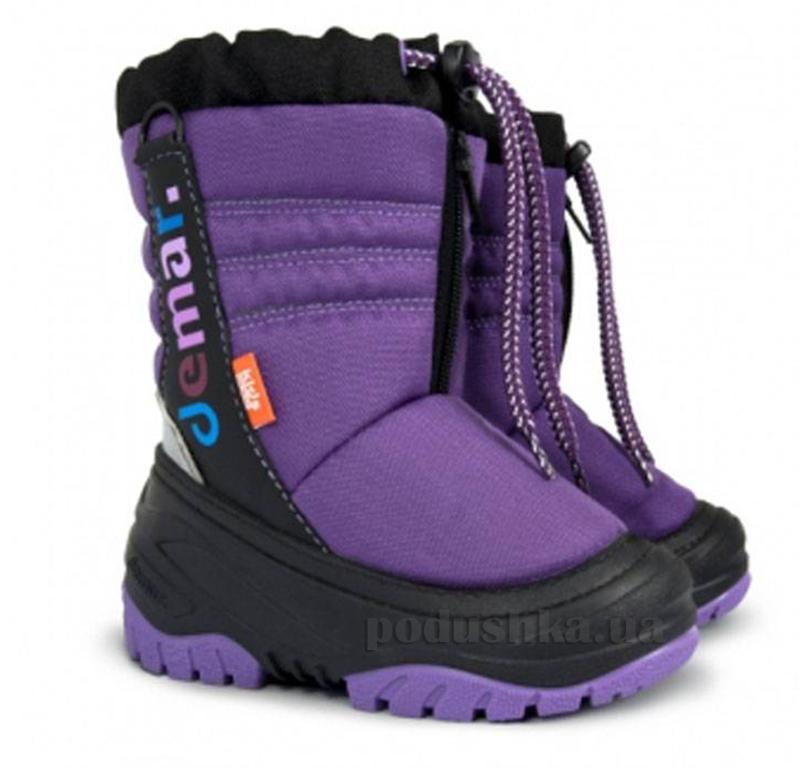 Дутики детские Demar Teddy фиолетовые