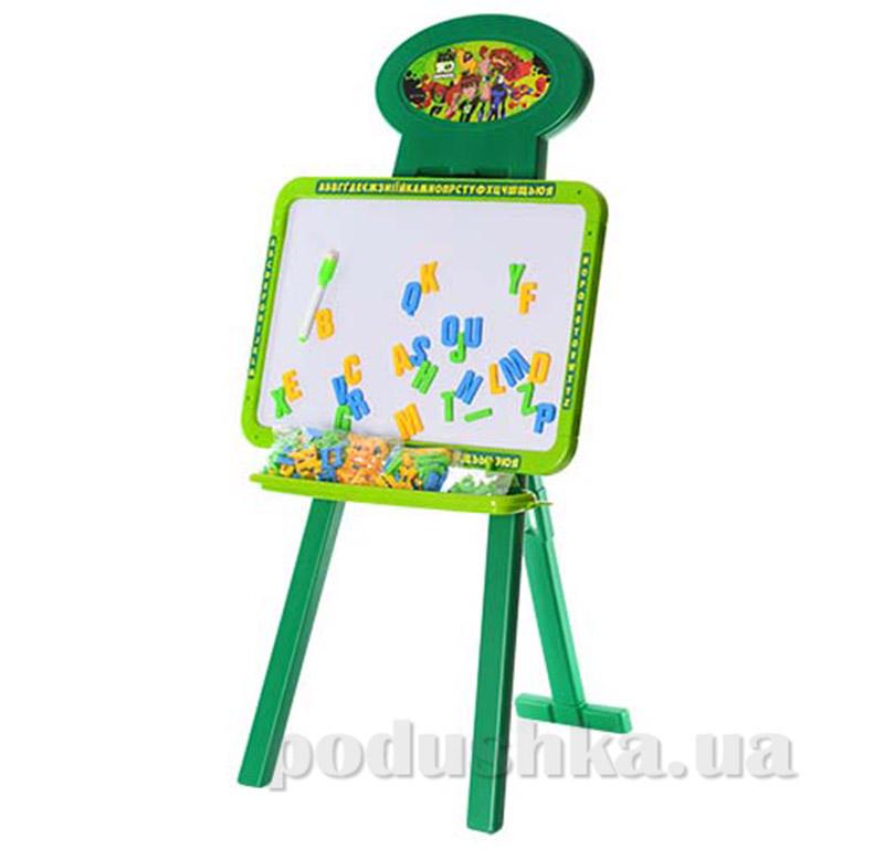 Двухсторонний мольберт Limo Toy Доска знаний Ben 10 BN 0062,0703L