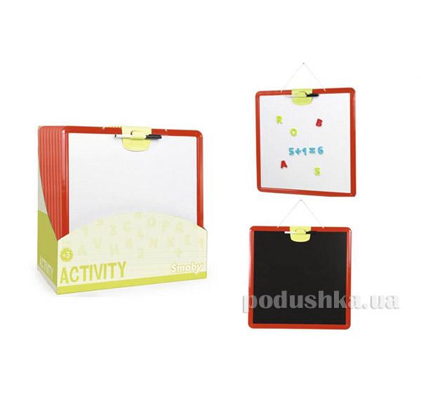 Двухсторонняя доска для рисования Smoby 410701   Smoby
