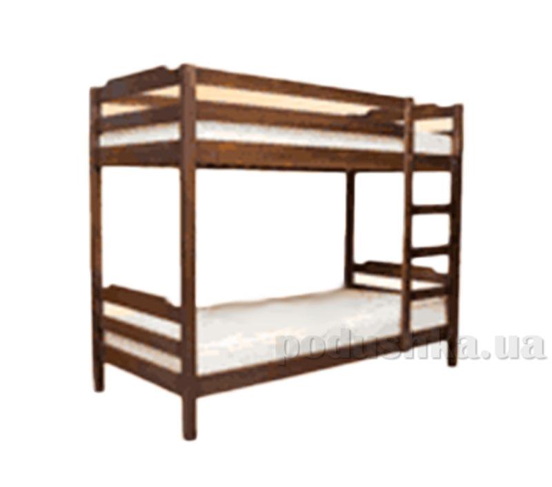 Двухъярусная кровать из массива ольхи Акант Пиноккио-2