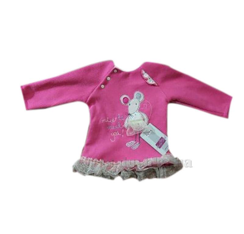 Джемпер для малышки с зайчиком Baby Life 21-.13