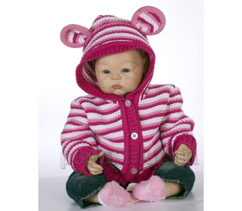 Кофта с капюшоном детская