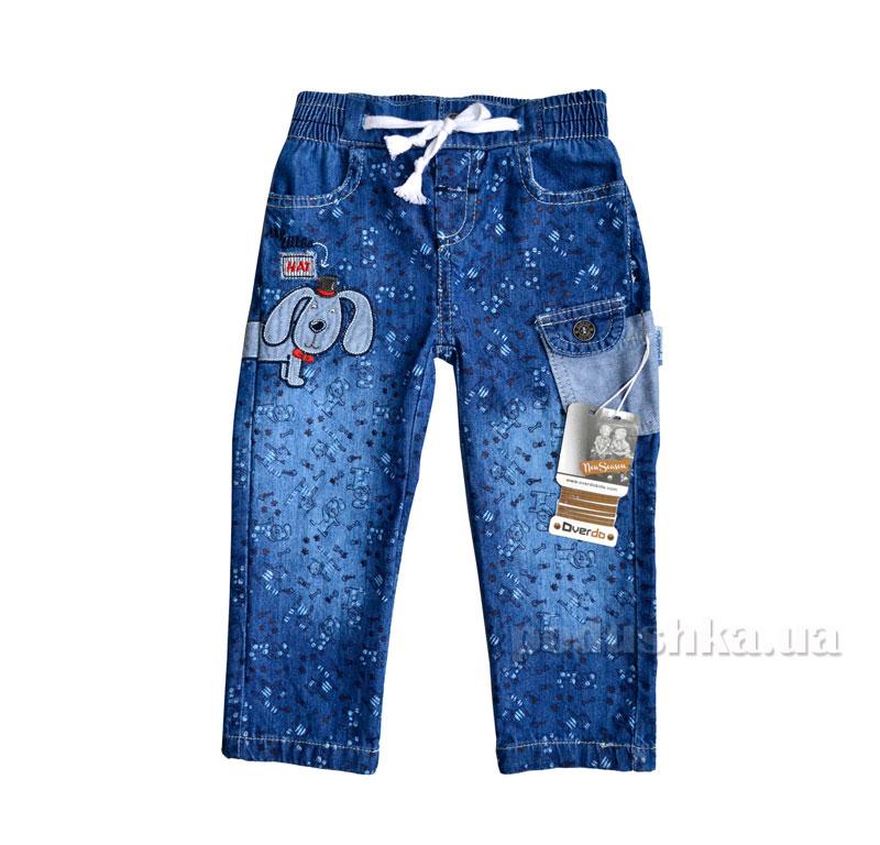 Джинсы для девочки Overdo Kids 4223 синие