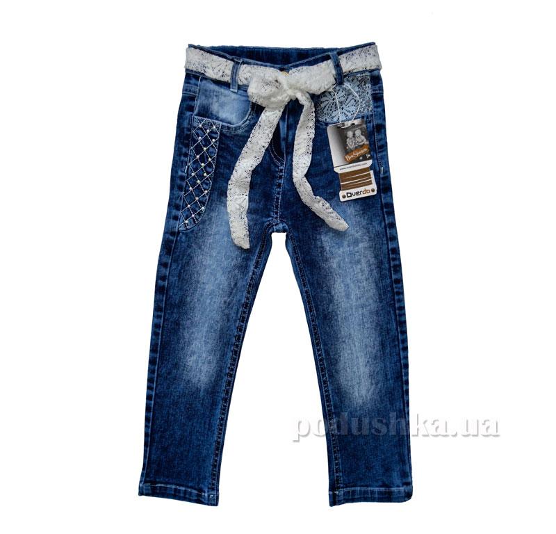 Джинсы для девочки Overdo Kids 4261 синие