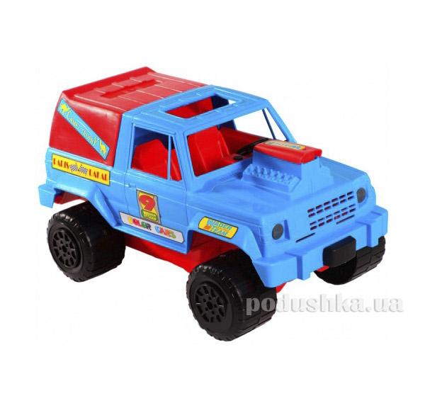 Джип - машинка сине-красный Wader 39008-2   Wader