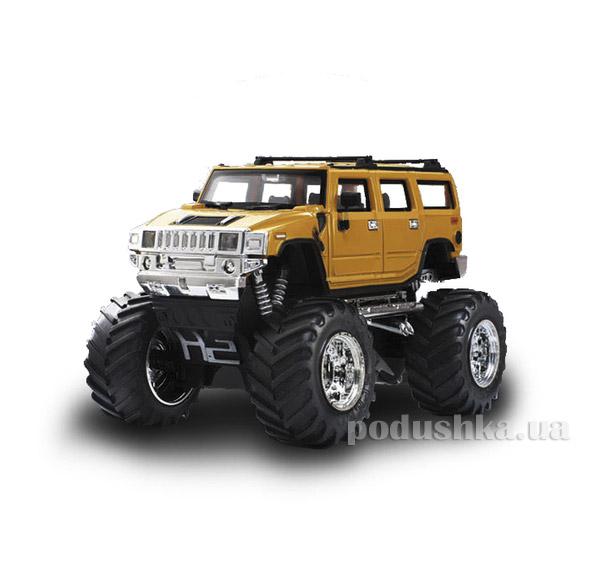 Джип микро радиоуправляемый 1:43 Hummer желтый Great Wall Toys GWT2008D-7