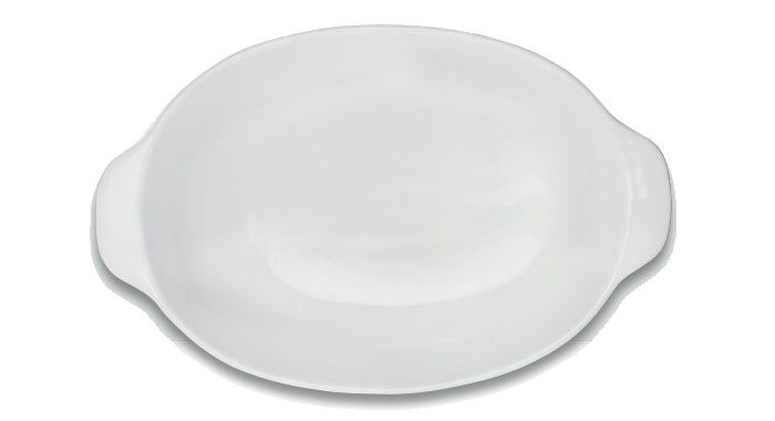 Форма для выпечки овальная 35х22х8 см Фарфор BergHOFF
