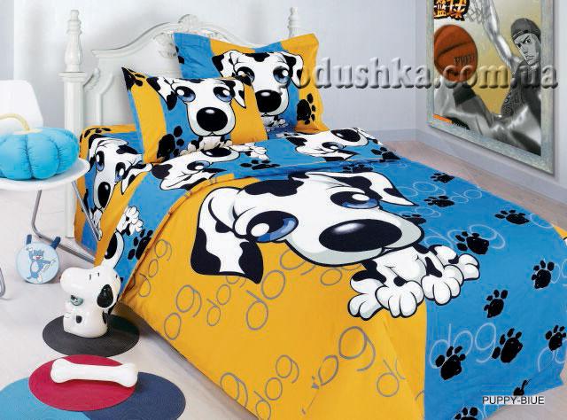 Комплект постели Puppy blue, ARYA