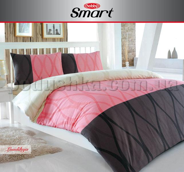 Постельное белье Hobby Smart Laodikya розовый