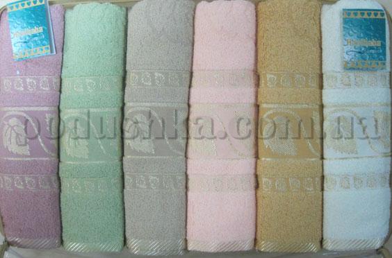 Набор махровых полотенец Hanibaba Suyolu gold list