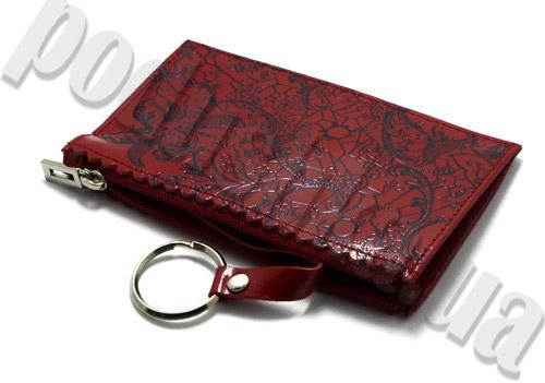 Ключница кожаная Derby 0430467 с тиснением