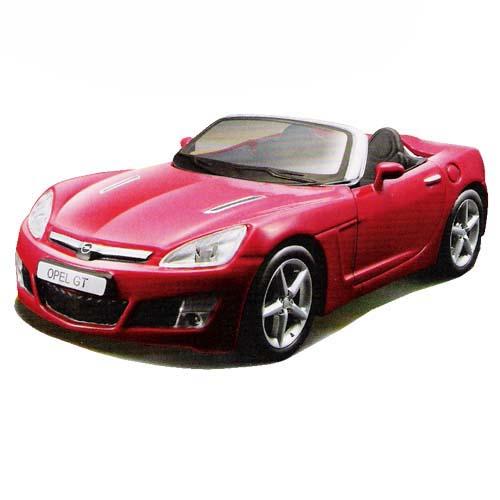 Авто-конструктор - OPEL GT, красный