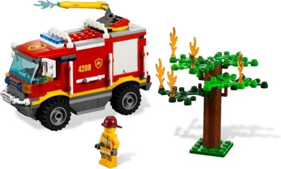 Пожарный внедорожник 4х4