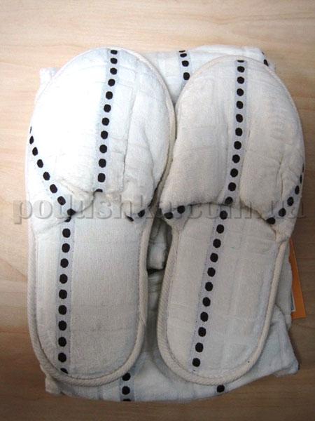 Набор для сауны мужской Nusa NS-215 кремовый