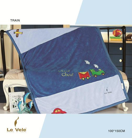 Плед детский Le Vele Train