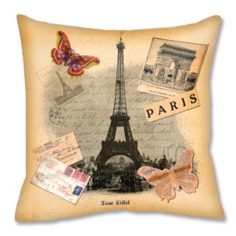 Подушка И опять о Париже...