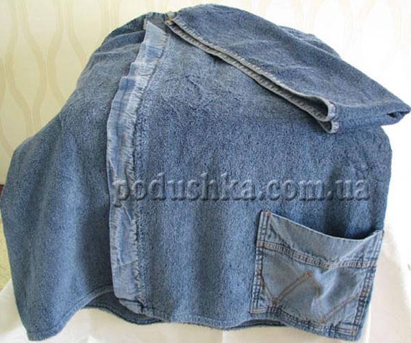 Набор для сауны женский джинс