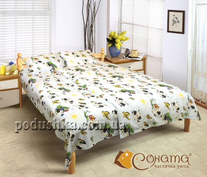 Постельное белье Соната Далматинец (для детской кроватки)