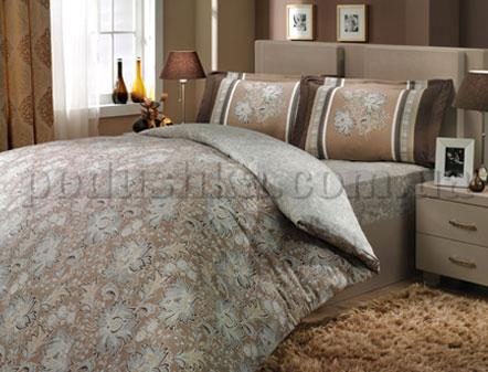 Постельное белье Hobby Sienna коричневый