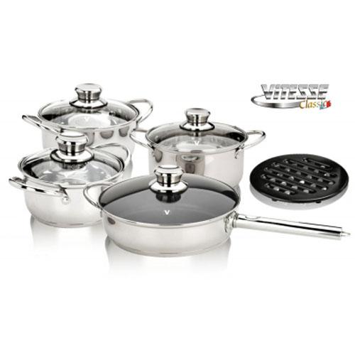 Набор посуды Vitesse VS-7025 9 предметов
