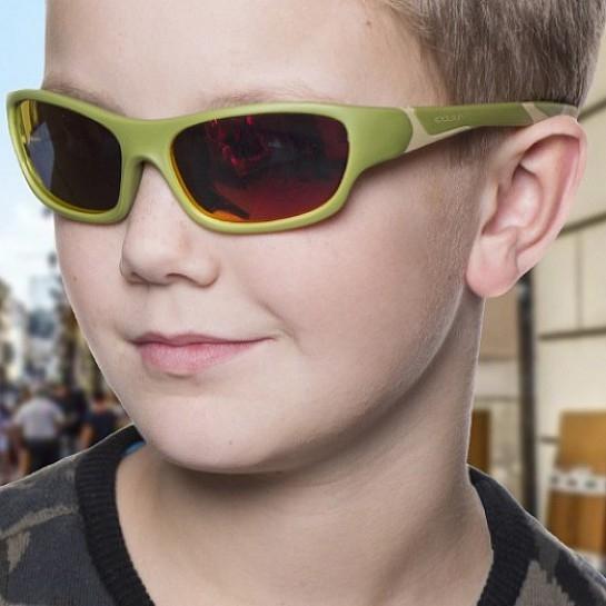 Детские солнцезащитные очки Koolsun цвета хаки