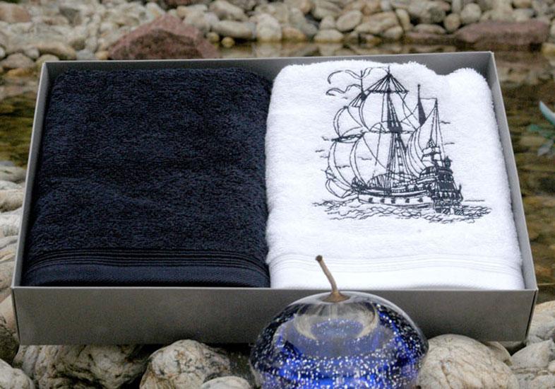 Набор махровых полотенец SHIP
