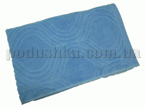 Полотенце махровое Belle-Textile Breeze голубое