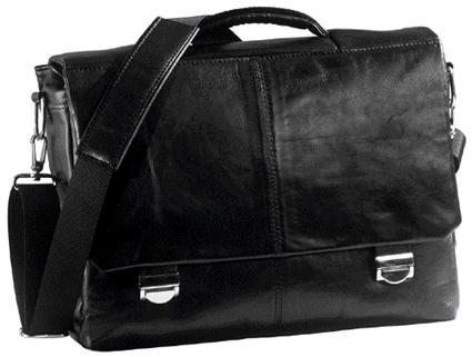 Сумка кожаная со специальным карманом для ноутбука ВХ2