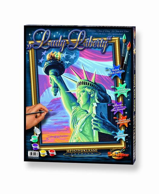 Художественный творческий набор Статуя Свободы