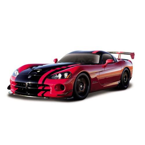 Автомодель - Dodge Viper SRT10 ACR (2008) (красный, 1:24)