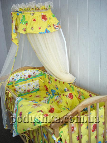 Спальный комплект для детской кроватки ВЕСЕЛКА-4