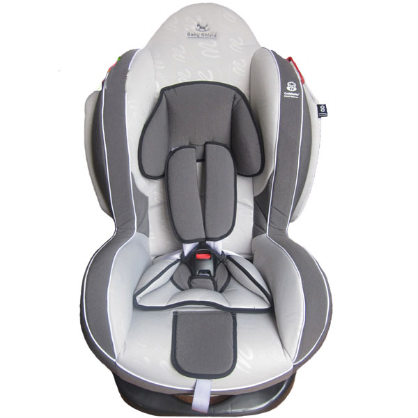 Автокресло Baby Shield Welldon CuddleMe Dark Grey/Grey