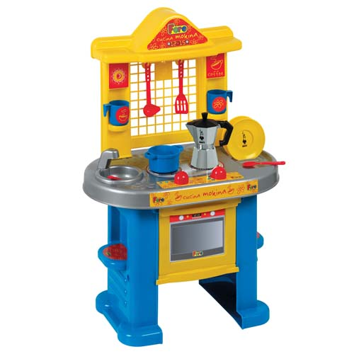 Игровой набор - Кухня- Bialetti (10 аксессуаров, 70 см)