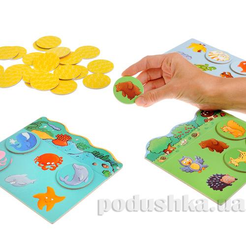 Игра  детское лото Животные Djeco DJ08120   DJECO