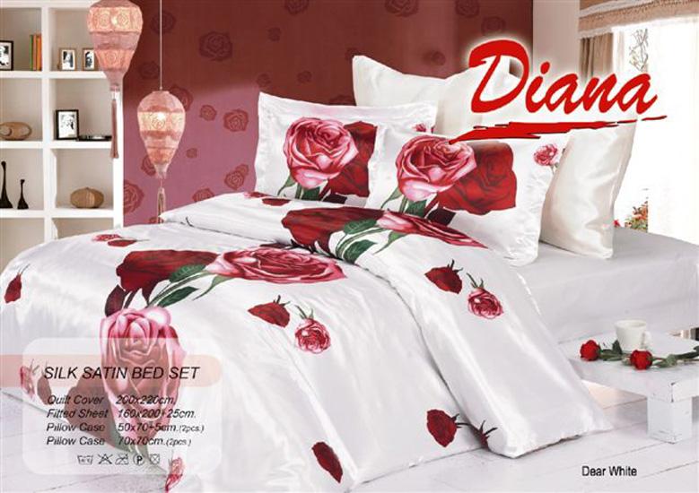 Постельное белье Dear white 012 Diana