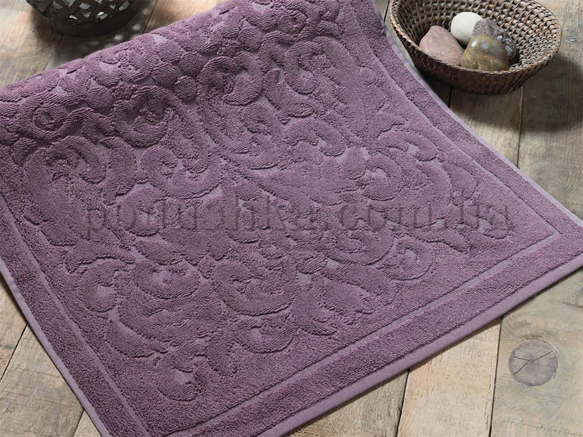 Полотенце махровое для ног ISSIMO RAVENNA Purple пурпурное