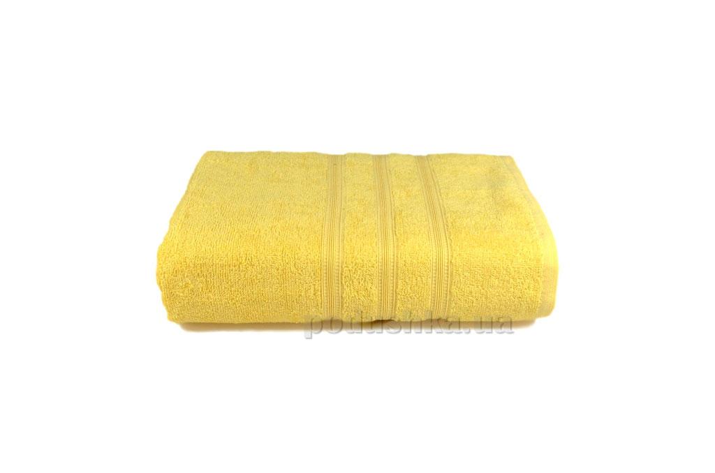 Махровое полотенце Home line Индия светло-желтое 30х30 см  Home line