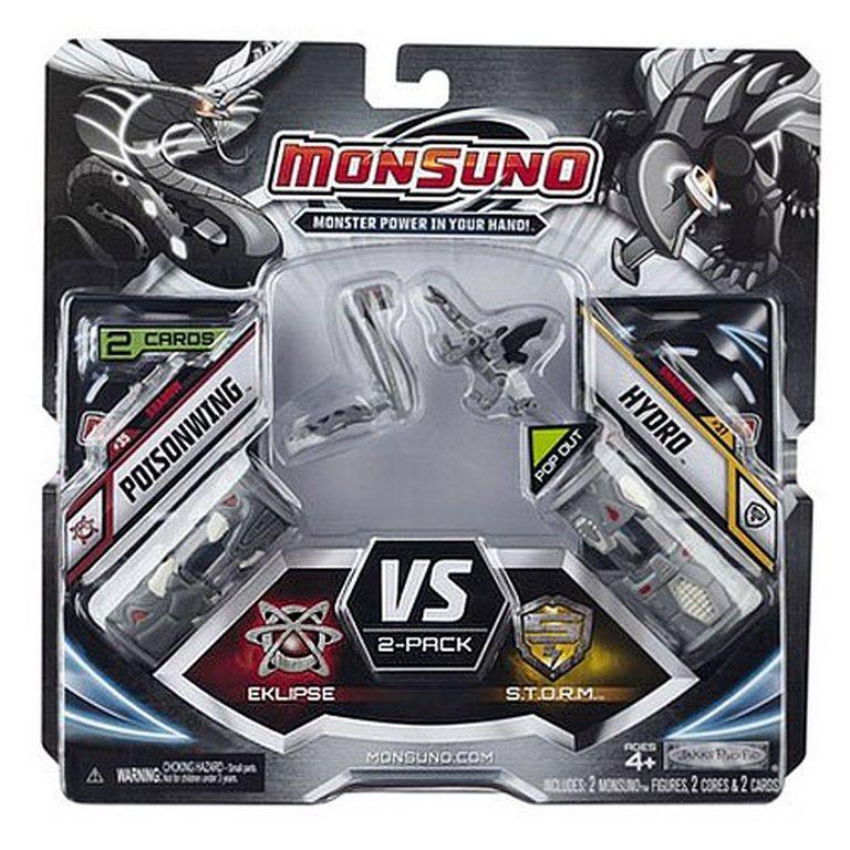 Набор для битвы Monsuno Eclipse - S.T.O.R.M Poisonwing и Hydro Сombat 2-Packs W3 24973-14573-MO