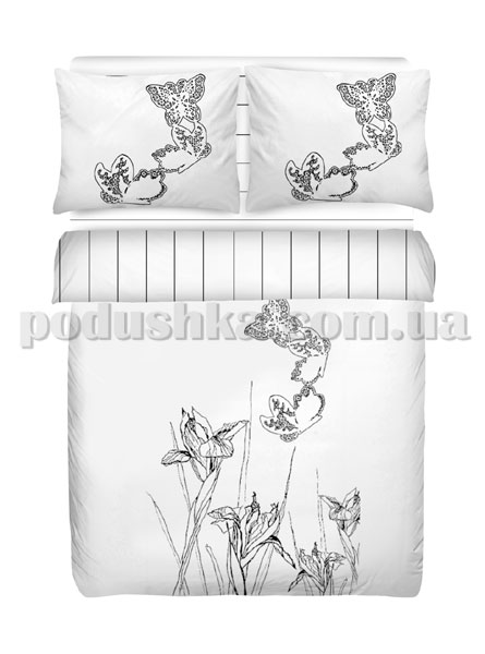 Постельное белье Mariposa Natura White