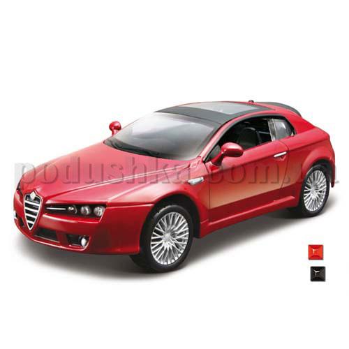 Автомодель - Alfa Brera (2005) (ассорти красный, черный, 1:32)