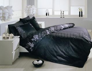 Постельное белье Valeron Purple черный