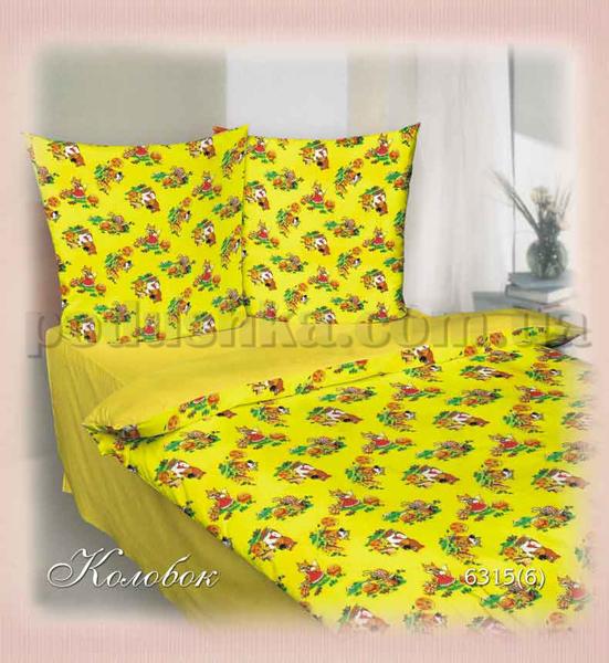 Постельное белье в кроватку Шуйские ситцы Колобок - коллекция Персик
