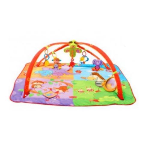 Развивающий коврик 5в1 - Цветное Сафари