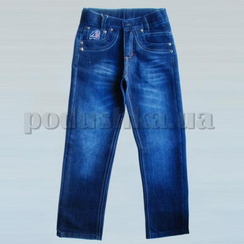 Штаны для мальчиков Бемби ШР189 джинс