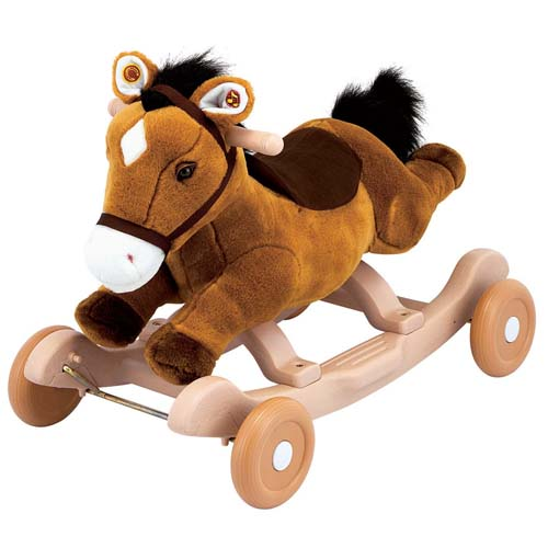 Чудокачалка - Поющий Пони (коричневый)