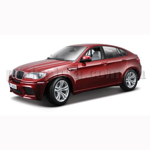 Автомодель - BMW X6 (красный металлик, 1:18)