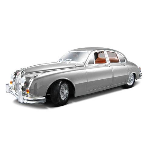 Автомодель - Jaguar Mark II (1959) (серебристый, 1:18)